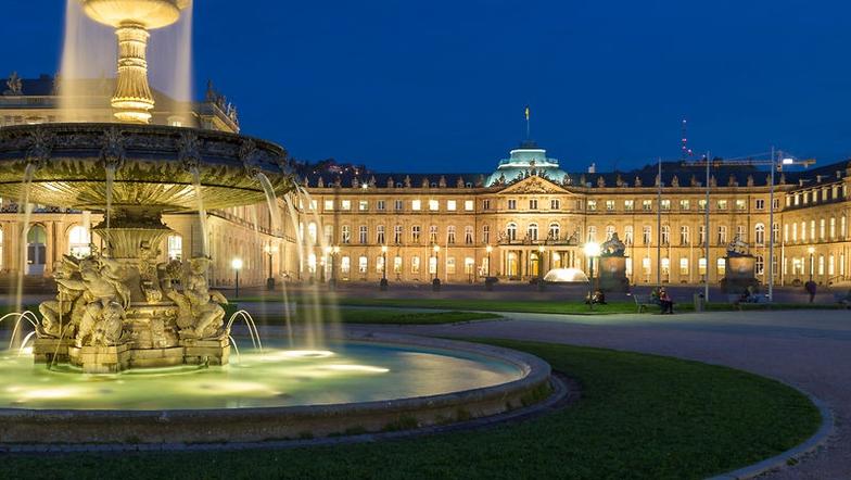 Wir besuchen Stuttgart
